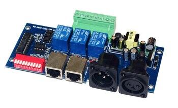 DMX-RELAY-3channel DMX512 リレー 5A * 3CH コントローラ入力 AC110v-220V led デコーダコントローラ