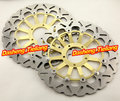 Arashi Front Brake Disc Rotors Set For Ducati 1098 1098S 2007 2008 & 1198 2009 2010 2011 & STREETFIGHTER 1100 2009 - 2011