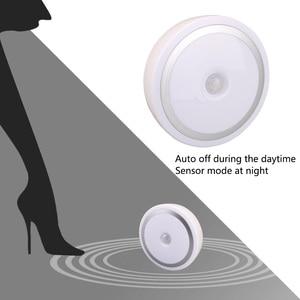 Image 4 - Coquimbo için Mıknatıs PIR Hareket Aktif Gece Lambası Hareket algılama pilli led Sopa her Yerde Işık Sensörü gardırop ışığı