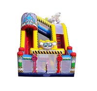 PVC Tarpaulin Inflatable Giant Jumping Castle Inflatable Fun City For Kids Game