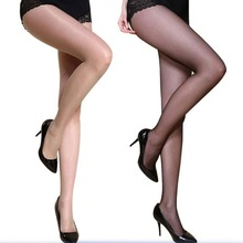 Elastic Large Size Sexy Women Anti Sticking Wire Pantyhose Silk Tights Stockings Summer Ultra-Thin Female Models Slimming Wraps