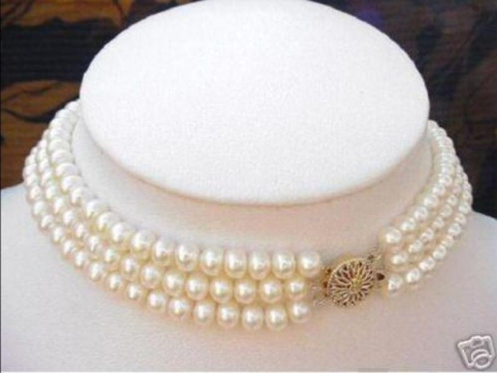 Genuine 8-9mm Black Natural Tahitian Pearl Necklace 18>>>women jewerly