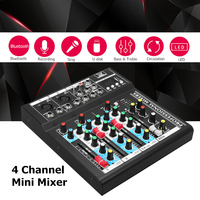 Professional stage four effect of USB interface K song live mixer Sound Console Network Anchor Device Vocal Effect Processor