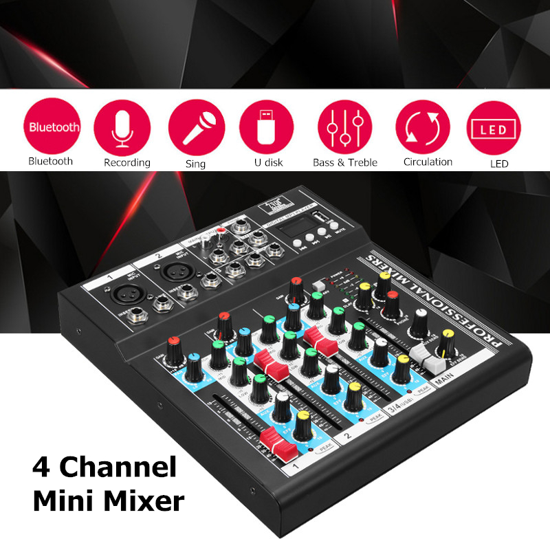 Professional stage four effect of USB interface K song live mixer Sound Console Network Anchor Device Vocal Effect Processor велосипед merida dakar 612 walk girl 2014