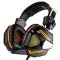 Профессиональный игровой наушники шлем аудио бас гарнитура gaming наушники С Шумоподавлением mic Светодиодные для компьютера gamer