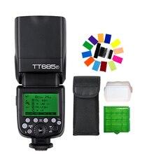 Godox TT685F TT685 TTL de Flash 2.4G HSS 1/8000 s GN60 sem fio Speedlite para Câmera Fuji Fujifilm X-Pro2/1 X-T20 X-T2 X-T1 X-T10