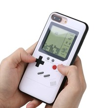 Wolsen Game Tetris phone case for Smart phone 6S 7 8plus support to play classic game