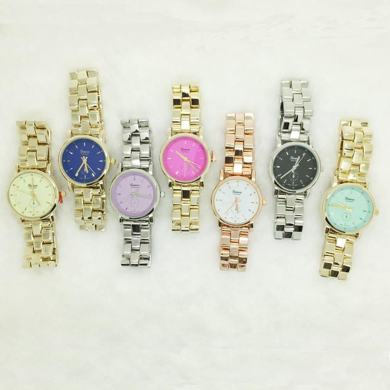 Նոր տիկնայք Ժնև 7 գունավոր արծաթե IP - Կանացի ժամացույցներ