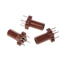20 шт Регулируемый корпус индуктора пустой ферритовый сердечник без катушки индуктора 25-100 МГц