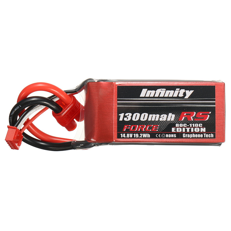 2017 Latest Batch For Infinity 1300mah 80C to 110C 4S1P 14.8V RS FORCE EDITION Rechargeable Li Lipo Battery for RC Drone Power touchstone teacher s edition 4 with audio cd
