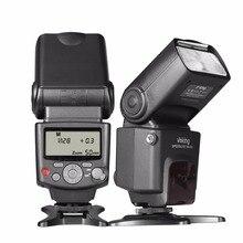 Voking VK430 Pantalla LCD Blitz E-TTL Speedlite para Canon DSLR cámara Speedlite Soporte + Lente Paño De Limpieza