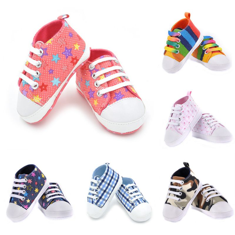 Infants-Baby-Boy-Girl-Soft-Sole-Crib-Shoes-Casual-Lace-Prewalkers-Sneaker-0-18M-X16-4