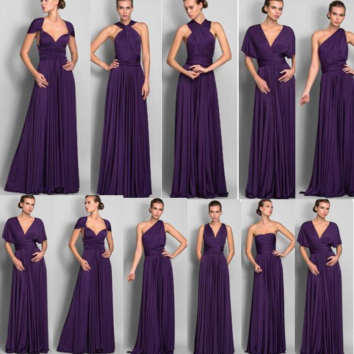 Online Get Cheap Purple Convertible Dress -Aliexpress.com ...