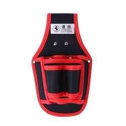 Отвертка утилита набор держатель высокое качество 600D нейлоновая ткань сумка для инструментов электрик талии карманный инструмент поясной ...