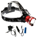 Cree xm-l T6 Stirnlampe Waterproof Fishing Flashligh Head Rechargeable Headlight with 18650 Battery Car-charger for Hunting