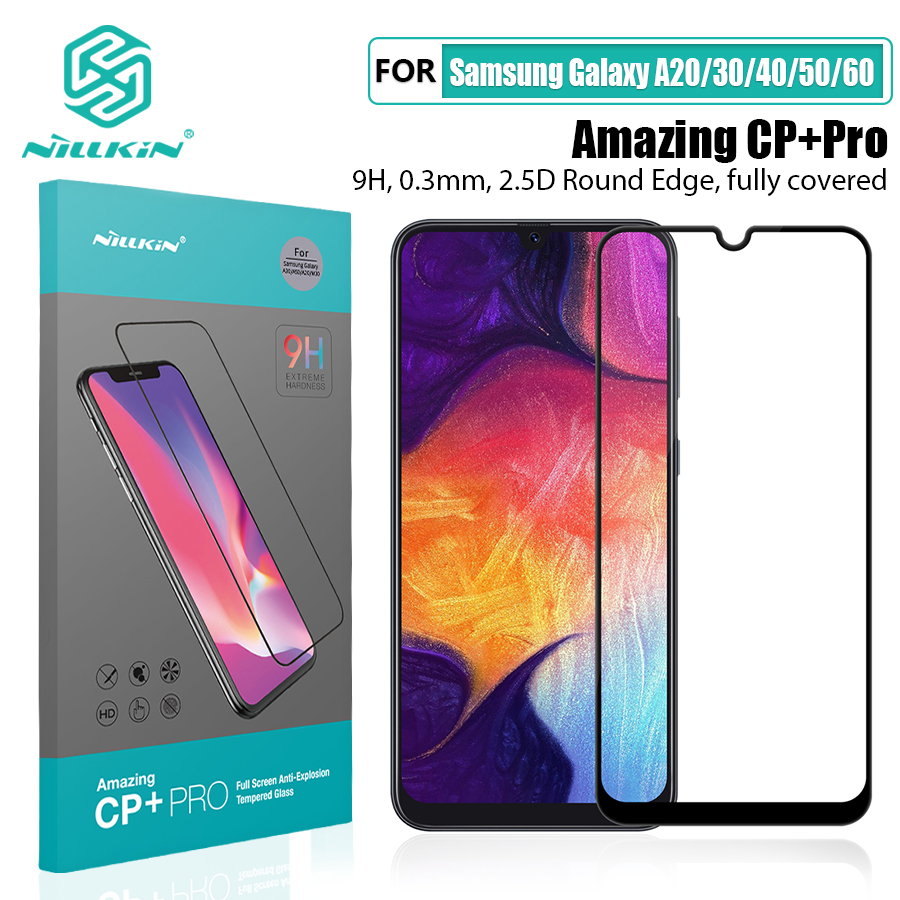 NILLKIN Amazing CP+Pro 9H Tempered Glass Protector For Samsung Galaxy A20/A30/A40/A50/A60/M30 Glass Screen Protector
