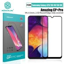 NILLKIN increíble Protector de cristal templado CP + Pro 9H para Samsung Galaxy A20/A30/A40/A50/A60/M30, Protector de pantalla de cristal