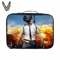 VEEVANV 3D Print Playerunknown S Battlegrounds Games Series Of Travel Bags For High Quality Sales And