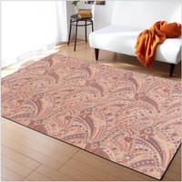 AOVOLL 2019 Area Rug European Classical Pattern Large Carpet Living room Mats Rugs For Bedroom Living room Area Rug