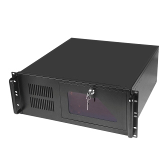 4U445 black industrial control cabinet 450MM long monitor cabinet server case 1.2MM thick steel plate набор одноразовых стаканов buffet biсolor цвет оранжевый желтый 200 мл 6 шт