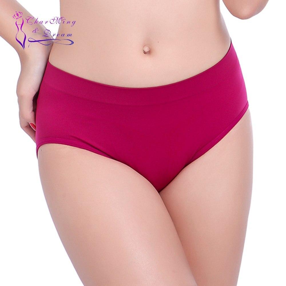 Hot Selling! Multicolors ! Charming&Dream Big Size Women's Yoga Underwear Sports Briefs  Women Seamless Underwear 14 Colors