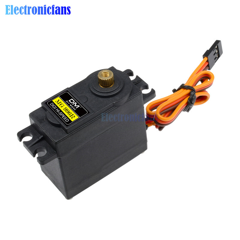 Image 3 - 10PCS Servos Digital MG996R MG995 55g Servos Digital Metal Gear RC Car Robot Servo for Car RC Model Helicopter Boat MG995-in Integrated Circuits from Electronic Components & Supplies