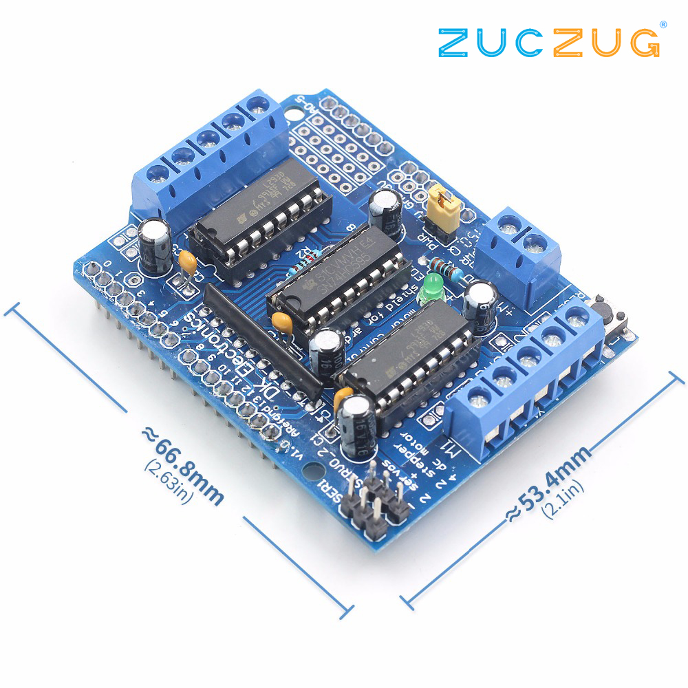 Hot Item L293d Motor Control Shield Drive Expansion Board For Bridge Circuit Bidirectional Arduino