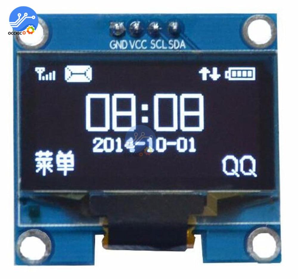"1,3 Zoll Iic I2c Serielle Weiß Oled Display Modul 128x64 I2c Interface Ssh1106 Lcd Screen Bord 3,3- 5 V 1,3 ""für Arduino"