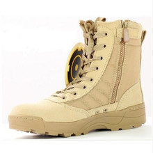 New America Swat Men's Tactical Boots Autumn And Winter Desert Boots For Military Enthusiasts Marine Male Combat Shoes