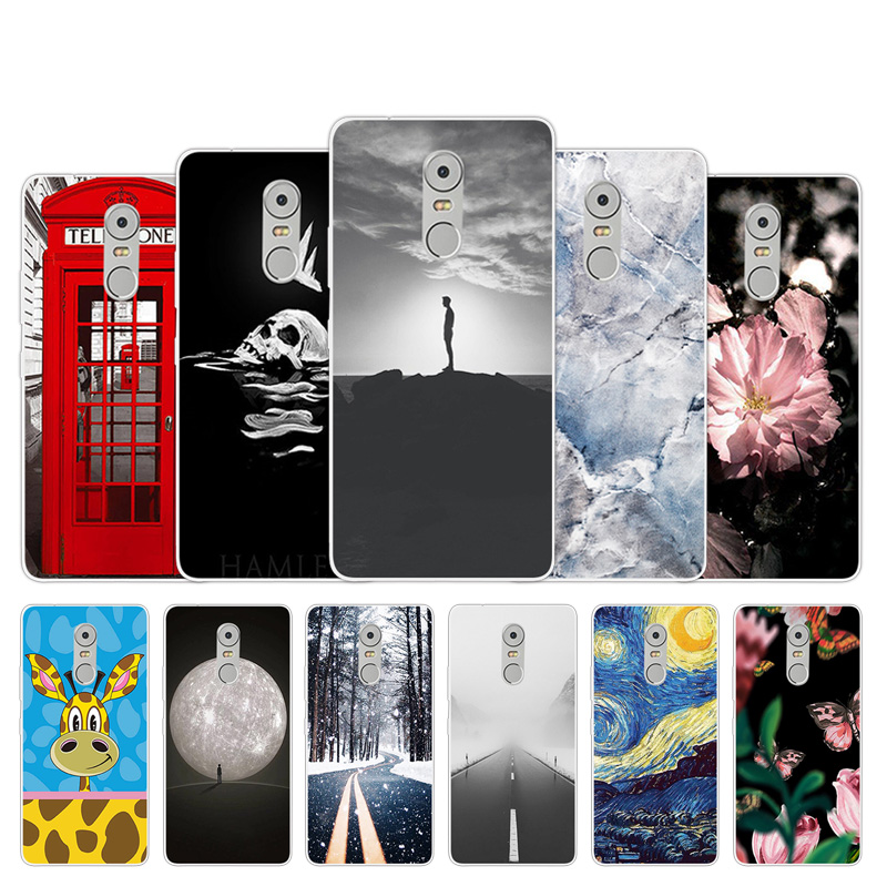 For Lenovo K6 Note 5.5 Inch K53 A48 K6Note K53A48 Case Soft TPU Silicone Phone Cover Call Box Design for Lenovo K 6 Note Gel