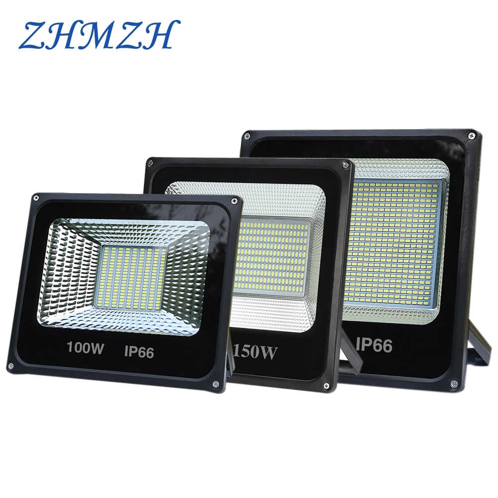 220V LED Project-light Lamp 50W 100W 500W High PF Waterproof IP65 IP66 Outdoor Floodlight Searchlight Advertising Flood Lights