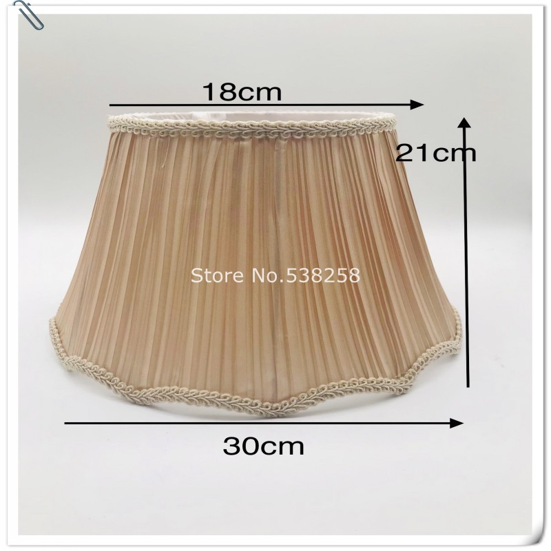 Lamp shade case cover contracted Europe type floor lamp cloth art lamp shades