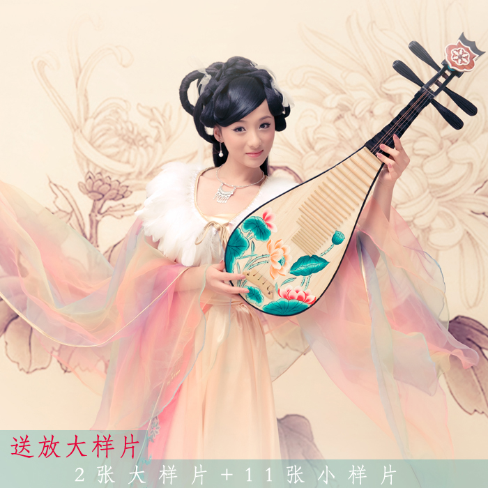 Ling Chun Qu Chinese New Year Gala PiPa Play Costume Hanfu For  Women Stage Performance Costume