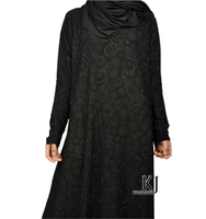2015 fashion abaya muslim girl long dress turkish women clothing burqa plus size dubai arab djellaba black robe evening dress