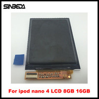 Sinbeda 100 Guaranty LCD Replacement For IPod Nano 4 4th Gen 8GB 16GB LCD Screen Display