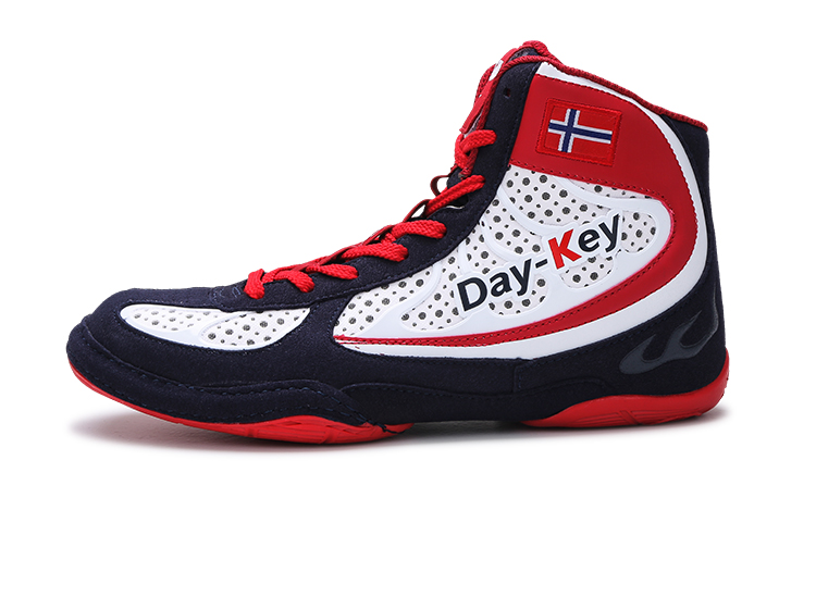 3c1b71619b914 DK new wrestling shoes training shoes men s anti-skid wear and wear fitness  shoes the south Korean national team two bottom