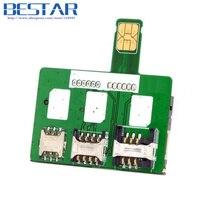Herramientas de Activación SIM Tarjeta de Convertidor de Tarjeta Inteligente IC Tarjeta de Extensión para Tarjeta Estándar del SIM Micro y Adaptador de Tarjeta SIM Nano Kit