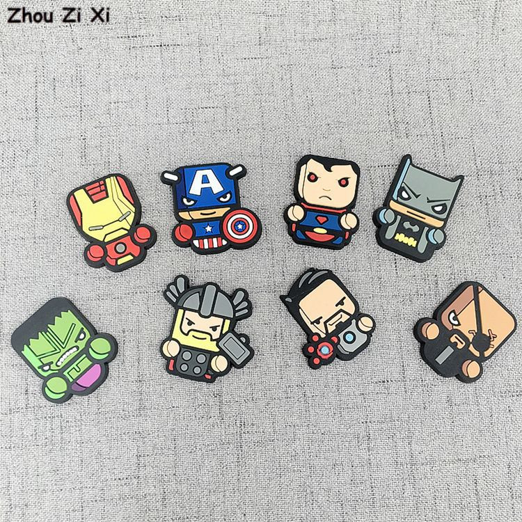 cute-cartoon-avengers-font-b-marvel-b-font-heroes-refrigerator-magnet-stickers-toys