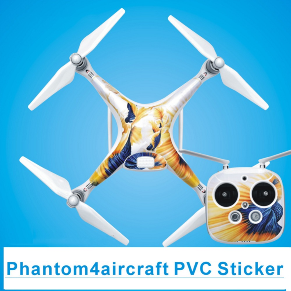 Waterproof Sticker PVC Decal Sticker Aerial Scratch Battery & Remote Sticker Multicopter Accessories For DJI phantom 4