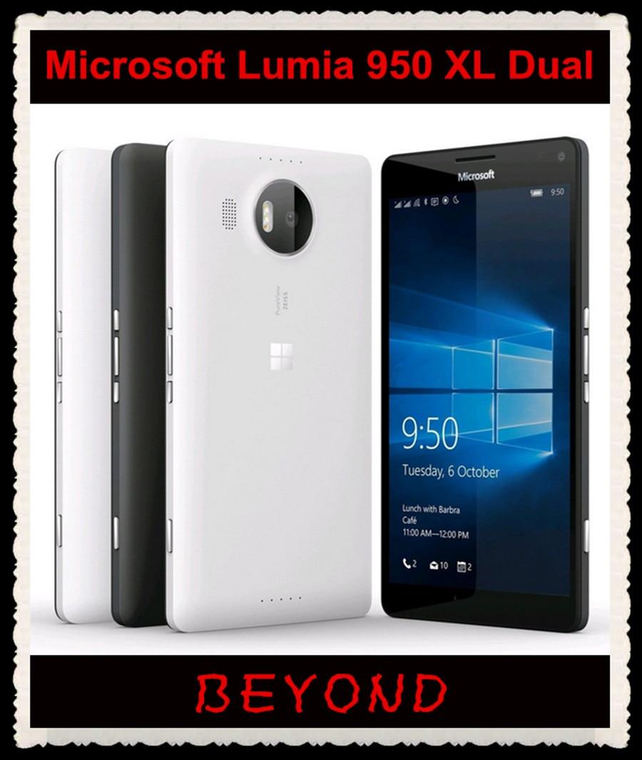 Microsoft Lumia 950 Xl Dual Sim Original Unlocked Windows 10 Mobile Nokia X 4gb Cyan Phone Lte Gsm 57