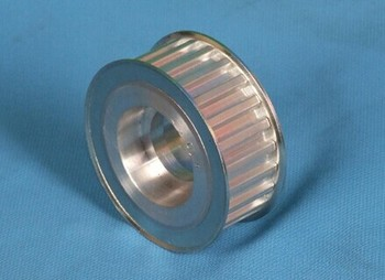 Double flamge timing belt pulley T10 cheap price