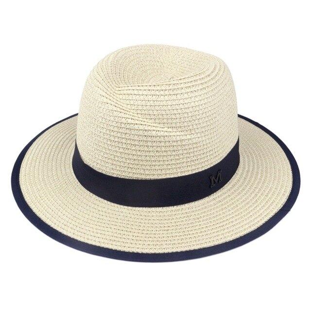 Lnpbd 2017 caliente nuevo elegante Negro Jazz sombreros para las mujeres  blanco sombrero de sol hombres b6ec8c145bdf