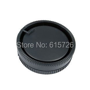 camera Body cap + Rear <font><b>Lens</b></font> Cap for <font><b>Sony</b></font> DSLR A Alpha Series A290 A380 <font><b>A390</b></font> A850 A230 A300 image