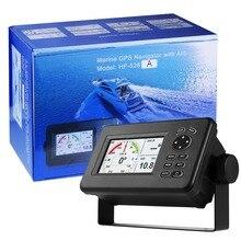 Matsutec HP-528A 4,3-дюймовый Цвет ЖК-дисплей плоттер встроенный АИС класса B Combo Высокая чувствительность морской gps навигатор