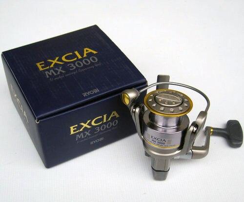 RYOBI fishing reel EXCIA 1000-4000 spinning reel metal lure fishing reel