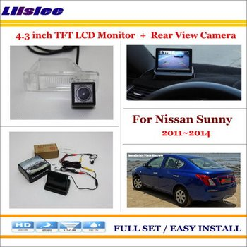 Auto Camera For Nissan Sunny 2011-2014 Auto Rearview Camera Back Up Parking Assistance System image