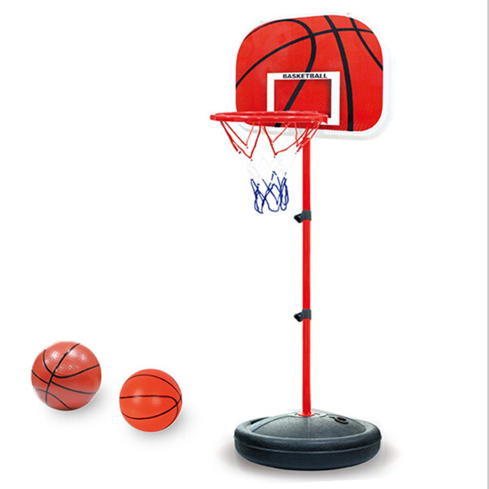 150cm Adjustable Basketball Back Board Stand & Hoop Set For Children Kids