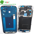 10pcs Original S4 Front Frame Housing For Samsung Galaxy S4 i9505 i9500 i9506 i337 Front Plate Case Bezel Cover With Parts