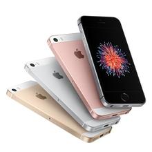 "Original Unlocked Apple iPhone SE 2GB RAM 16G/32G/64GB ROM Mobile Phone A9 iOS 9 Dual Core 4G LTE 4.0"" Fingerprint Smartphone"