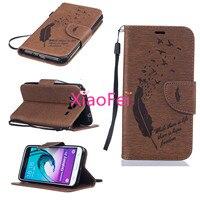 New Arrival Hot Sale Wallet PU Leather For Samsung Galaxy J3 J300 Flip Wallet Bag Flip